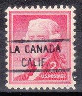 USA Precancel Vorausentwertung Preo, Locals California, La Canada 821 - Vereinigte Staaten