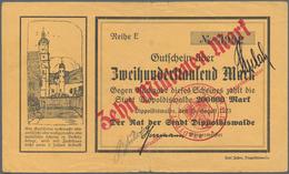 Deutschland - Notgeld: Hochinflation, 86 Deutsche Notgeldscheine überwiegend Aus 1923 Mit Einigen We - Allemagne