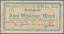 Deutschland - Notgeld: Hochinflation, Schachtel Mit 458 Notgeldscheinen Allermeist Von 1923 Mit Eini - Allemagne
