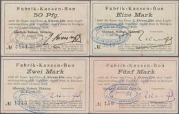 Deutschland - Notgeld - Elsass-Lothringen: Walbach, Oberelsass, J. Kiener Fils, 50 Pf., 1, 2, 5 Mark - Allemagne