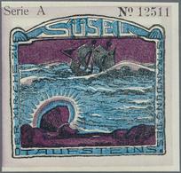 Deutschland - Notgeld - Schleswig-Holstein: Süsel, Gemeinde, 75, 100 Pf., 10.2.1921, No. KN, Je 17 K - [11] Emissions Locales