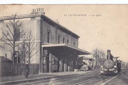 (41)   LE CHAMBON - La Gare - Le Chambon Feugerolles