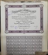 EGYPT - Alexandria Egyptian Navigation Company 1930 - 200 Actions - Africa