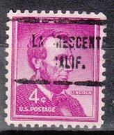 USA Precancel Vorausentwertung Preo, Locals California, La Crescenta 713 - Vereinigte Staaten