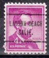 USA Precancel Vorausentwertung Preo, Locals California, Laguna Beach 713 - Vereinigte Staaten