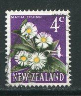 NOUVELLE-ZELANDE- Y&T N°448- Oblitéré (fleurs) - Plants