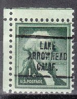 USA Precancel Vorausentwertung Preo, Locals California, Lake Arrowhead 707 - Vereinigte Staaten