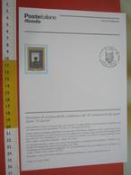 D.01 BOLLETTINO ILLUSTRATO ANNOUNCEMENT POST ITALIA 2006 MILANO 50 ANNI QUOTIDIANO IL GIORNO GIORNALE IDIOMA GIORNALISMO - Other