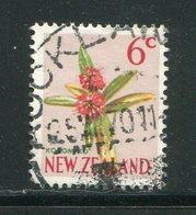 NOUVELLE-ZELANDE- Y&T N°450- Oblitéré (fleurs) - Plants