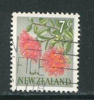 NOUVELLE-ZELANDE- Y&T N°451- Oblitéré (fleurs) - Plants