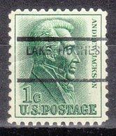 USA Precancel Vorausentwertung Preo, Locals California, Lake Jughes 846 - Vereinigte Staaten