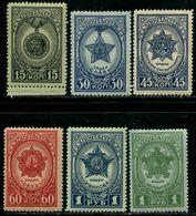 Russia  1945 Mi 940-945  MNH OG - 1923-1991 USSR