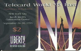 USA: Liberty  - TeleCard World '95 Exposition New York - Vereinigte Staaten