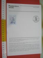 D.01 BOLLETTINO ILLUSTRATO ANNOUNCEMENT POST ITALIA - 2006 ROMA SAN GREGORIO MAGNO SANTO - Teologi