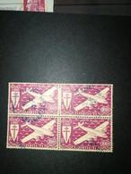 DJIBOUTI COTE DES SOMALIS Costa Francese Della Somalia 1941 Airmail - Plane And Cross Of Loraine @@@ - Frans-Somaliland (1894-1967)