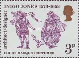 USED STAMPS Great-Britain - The 400th Anniversary Of The Birth Of Inigo Jones - 1973 - 1952-.... (Elizabeth II)