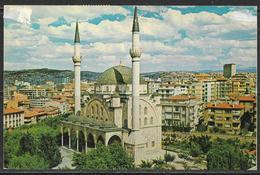 Carte Postale De La Turquie, Jolie Obliteration, POSTCARD OF TURKEY, GREAT POSTMARK, THE MOSQUE OF MALTEPE - Turquie