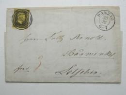 DANZIG , 1850 , Sauberer Brief Mit Inhalt - Danzig