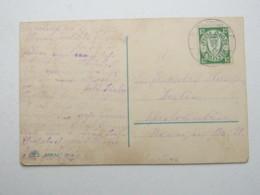 DANZIG , STANGENWALDE  Stempel Auf Karte , Sehr Selten 1925 - Danzig