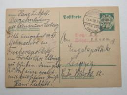 DANZIG , NEUMÜNSTERBERG Auf   Karte , Sehr Selten 1939 - Danzig