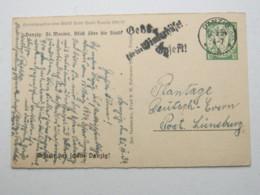 DANZIG , 10 Pfg. Bildganzsache WHW 1934 , Verschickt Aus Danzig , Sehr Selten - Danzig