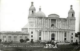 HAÏTI -cap Haïtien, La Cathédrale. - Haiti