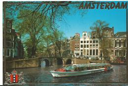 Pays Bas Amsterdam Voitures Bateaux - Amsterdam