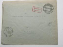 MARIENWERDER , 1923 , Gebühr Bezahlt , Brief Nach Elbing - Deutschland