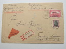 ALLENSTEIN , 1920 , NN-Einschreiben - Deutschland