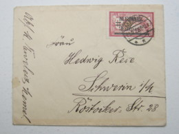 MEMEL , Brief 1922 - Memelgebiet