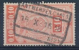 """TR 136  - """"ANTWERPEN-Caal 1 - Nr 21"""" - Franse Tekst Gewist/texte Français Limé - (ref. LVS-26.350) - 1923-1941"""
