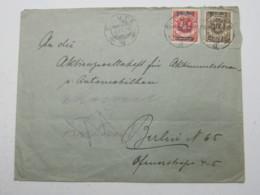 MEMEL , Brief Aus Silute  1924 - Memelgebiet