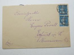 MEMEL , Brief Aus Memel  1921 - Klaipeda