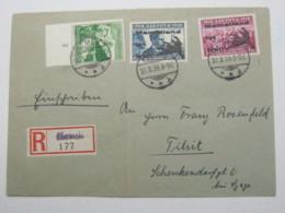 MEMEL , Einschreiben  1939 - Memelgebiet
