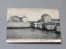 Heyst Sur Mer Les écluses Et Hotel - Cartes Postales