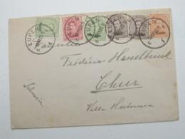 EUPEN , Brief In Die Schweiz  1920 - Guerre 14-18