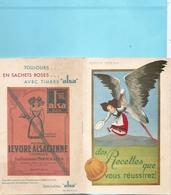 Vieux Papiers- Publicités- Levure Alsacienne - Recettes  Réf 5613 - Publicités