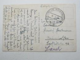 DANZIG , Deutsche Kriegsmarine Nr.40 , Seltener Stempel Vom 16.9.1939 Auf Feldpostkarte Aus Danzig - Danzig