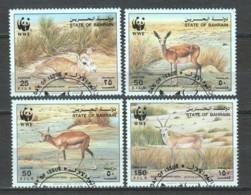 Bahrain 1993 Mi 511-514 WWF ANTELOPES - W.W.F.