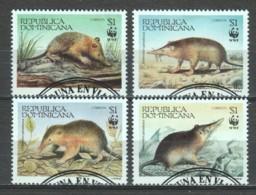 Dominican Republic 1994 Mi 1698-1701 WWF - W.W.F.