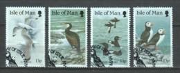 Isle Of Man 1989 Mi 408-411 WWF BIRDS - W.W.F.
