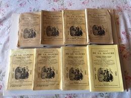 7 Almanachs De La Manche (de 1967 à 1985) - Livres, BD, Revues