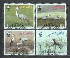 Malawi 1987 Mi 477-480 WWF BIRDS - W.W.F.