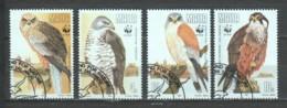 Malta 1991 Mi 864-867 WWF BIRDS OF PREY - W.W.F.