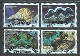 Marshall Islands 1986 Mi 73-76 WWF SEALIFE - W.W.F.