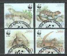 New Zealand 1991 Mi 1160-1163 WWF REPTILES - W.W.F.