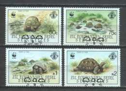 Seychelles 1985 Mi 104-107 WWF TURTLES - W.W.F.