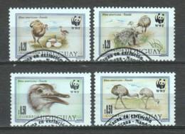 Uruguay 1993 Mi 2021-2024 WWF NANDU - W.W.F.