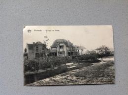 Westende  Groupe De Villas - Cartes Postales