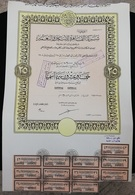 EGYPT - Cairo Housing & Development Company - 1908 - 25  Actions - VVVVV RARE - Africa